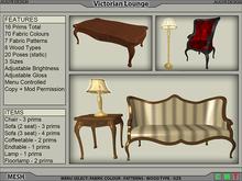 Victorian Lounge (7 Piece) [AUGYR DESIGN] [MESH]