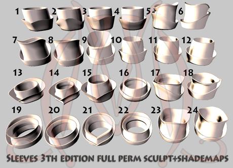 Sleeves 3th edition FULL PERM SCULPT+SHADEMAPS