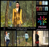 Prism Sienna by Journey with Fabric Hud and Maitreya Appliers