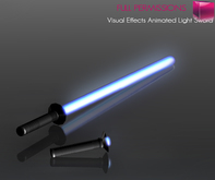 Full Perm Mesh Visual Effects Animated Light Saber Sword - Scripted