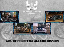 Blend.Custom.Racing Affiliate Vendor