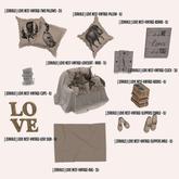[ zerkalo ] Love Nest-Vintage-Slippers Female
