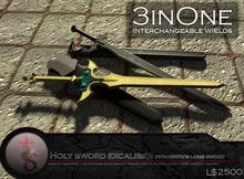 [SwordArtOnline] Holy Sword Excaliber with Long Sword