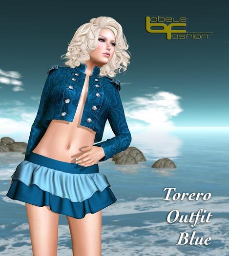 Babele Fashion :: Torero Outfit Blue