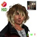 """eDeLsToRe man mesh hair """" Sam """" incl all color HUD rigg and no rigg version (Special Rigged Fitted Mesh Hair)"""