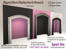 Elegant Store Display Box & Frame 2