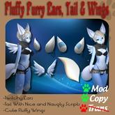 Fluffy Furry Ears , Tail & Wings