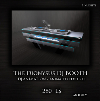 The DIONYSUS DJ BOOTH