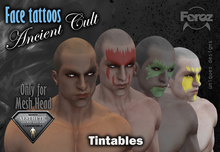 - AESTHETIC - Face Tattoos - Ancient Cult Pack