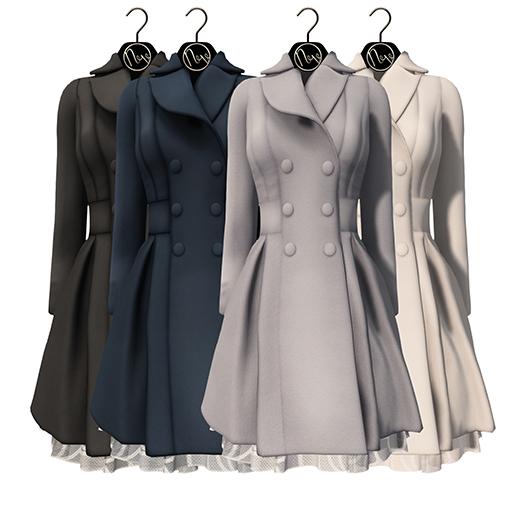 neve coat - femme neutral