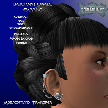 DS9 Bajoran Female Earring