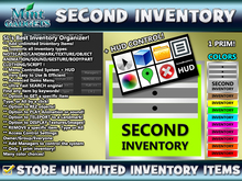 SecondInventory [Add Unlimited Items, GET, REZ, PLAY, TP, DISPLAY & SHARE]