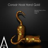 .AiShA. Corsair Hook Hand Gold