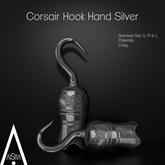 .AiShA. Corsair Hook Hand Silver