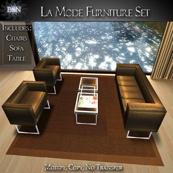 La Mode Furniture Set