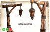 [MF] Mesh wood street lantern (boxed)
