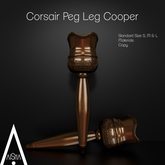 .AiShA. Corsair Peg Leg Cooper