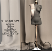 Asteria Full Perm - One Shoulder Fur Boa - DEMO