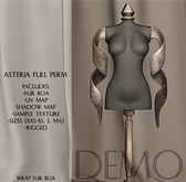 Asteria Full Perm - Wrap Fur Boa - DEMO
