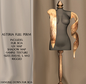 Asteria Full Perm - Hanging Fur Boa - Full Permission