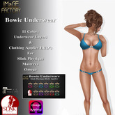 IMaGE Factory Bowie Underwear with Slink Physique Applier