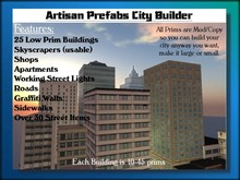 Artisan Prefabs City Builder