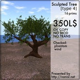 Sculpted Tree [type4]