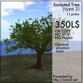 Sculpted Tree [type2]