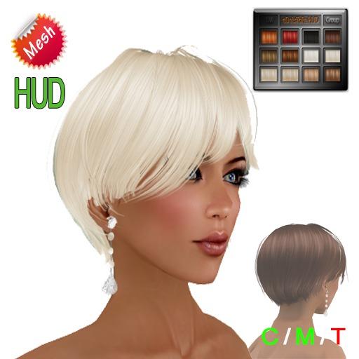 "eDeLsToRe woman mesh hair "" Nicole "" BOX"