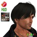 """eDeLsToRe man mesh hair """" Nico """" (Special Rigged Fitted Mesh Hair)"""