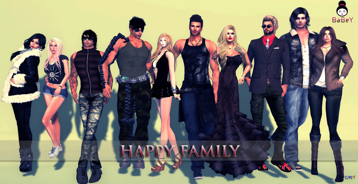 {B} HAPPY FAMILY- GROUP POSE [UPDATED]