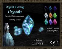 Zyn ~ Magical Floating Crystals