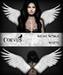 Corvus : Mesh Wings White
