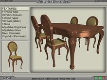 Victorian Dinner Set [AUGYR DESIGN] [MESH]