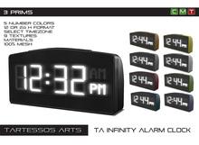 ::TA Infinity Alarm Clock - Copy