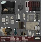 MudHoney Lenore Table black