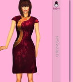 {B}PURPLE CHEONGSAM*