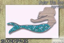 Second Spaces - Under the Sea - dresser - mermaid (bxd2)