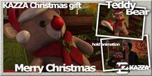 KAZZA - Christmas Gift - Teddy Bear