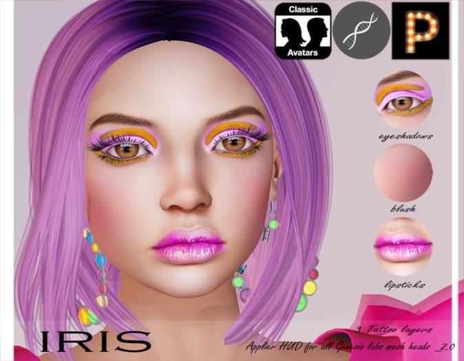 =Pautina= MAKE-UP IRIS - appliers for Genesis labs / Classic avatars