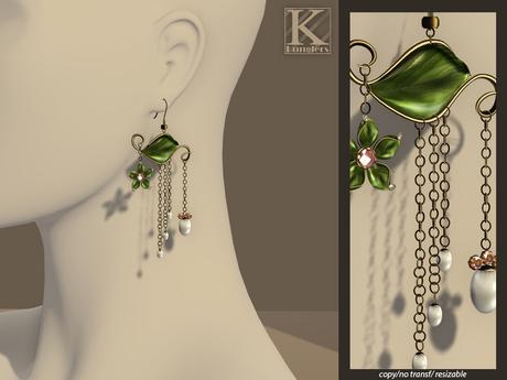 (Kunglers) Josephine earrings - Copper