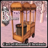 BSHouse-Cart of Roasted Chestnuts