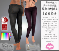 Tasty Pudding - Ultimate Jeans - MILLIONS of Colors by HUD - Maitreya, Belleza, SLink PROMO PRICE SAVINGS