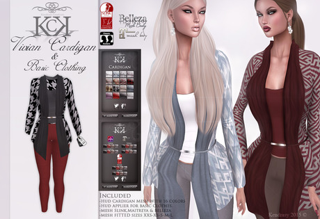 :::KC::: Vivian Cardigan & Basic Clothes