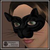 Cat Mask - Charcoal