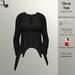 DE Designs - Olivia Top - Black Fabric