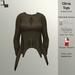 DE Designs - Olivia Top - Brown Fabric