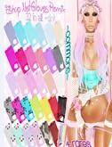 *HolliPocket* Fishup Net Gloves Remix-Coral Pink