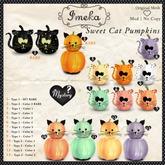 {Imeka} Sweet Cat Pumpkins - Type 2 - Color 3