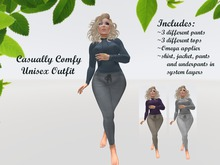 {{P.I.D&D}} Casually Comfy Unisex Outfit 3 stylesOmega Applier